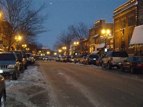 christmas main streets  minnesota
