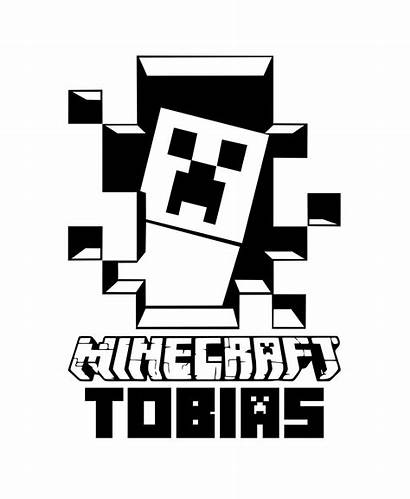Minecraft Creeper Decals Silhouette Decal Vinyl Wall