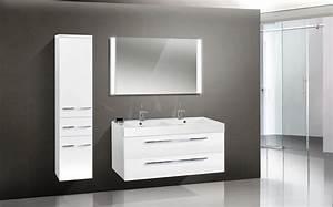 Waschtisch Set 120 Cm : design badm bel set lichtspiegel waschtisch 120 cm ~ Bigdaddyawards.com Haus und Dekorationen