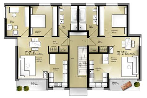 Fertighaus 4 Wohnungen by Das Mehrfamilienhaus Jetzthaus Obergeschoss