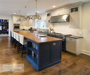 off white cabinets with a blue kitchen island masterbrand With best brand of paint for kitchen cabinets with translucent sticker
