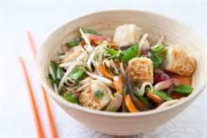 recette de cuisine au wok recette de wok de légumes au gingembre tofu végétarien