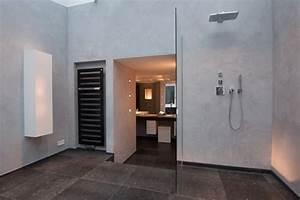 Stein Putz Bad : naturstein trifft kalkputz modern badezimmer hamburg von thomas kampeter wandgestaltung ~ Sanjose-hotels-ca.com Haus und Dekorationen