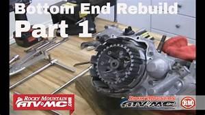 Motorcycle Bottom End Rebuild Part 1  Of 3  Engine