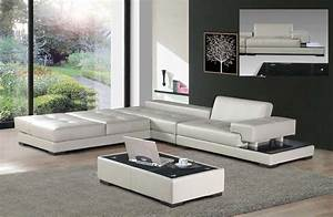 Italian Sofas For Color Block Theme Room