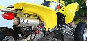 Suzuki Ltz 400 : best aftermarket suzuki ltz 400 exhaust slip on vs full pipe more hp ~ Dode.kayakingforconservation.com Idées de Décoration
