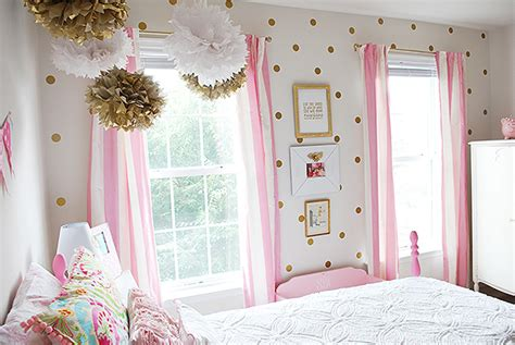 pink and gold bedroom s room in pink white gold decor hometalk