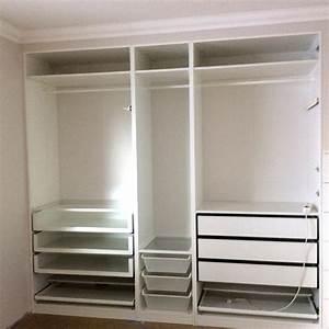 Built-in Pax wardrobe and nightstand - IKEA Hackers - IKEA
