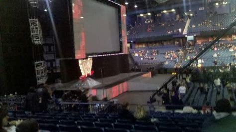 allstate arena section  row  seat  monday night