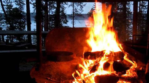 Awesome Crackling Campfire  How To Make Youtube