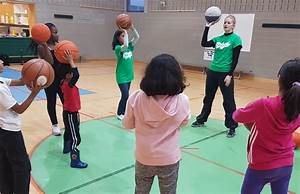 Shooting Hoops and Developing Physical Literacy Skills