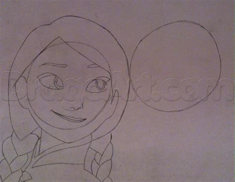 Step By Step How To Draw Elsa And Anna From Frozen New