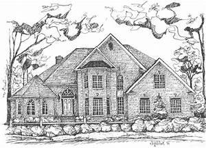 Draw House Jpeg - Home Plans & Blueprints | #24430