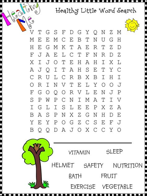 easy word search  kids  coloring pages  kids