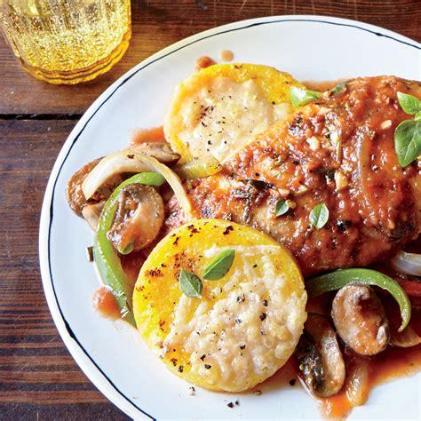cuisine polenta parmesan polenta rounds recipe myrecipes