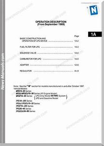 Toyota Forklift Bt 4y Engine Manual Repair Manual