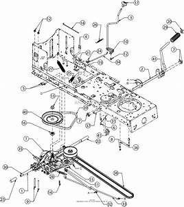 Mtd 13a277xs099  247 203703   T1000   2016  Parts Diagram For Drive