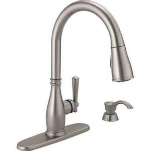 delta charmaine single handle pull down sprayer kitchen