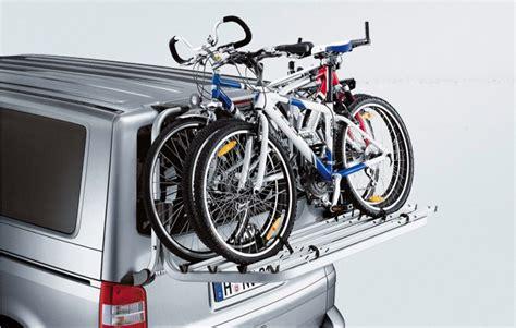 fahrradträger vw t5 original vw t5 volkswagen fahrradtr 228 ger f 252 r die