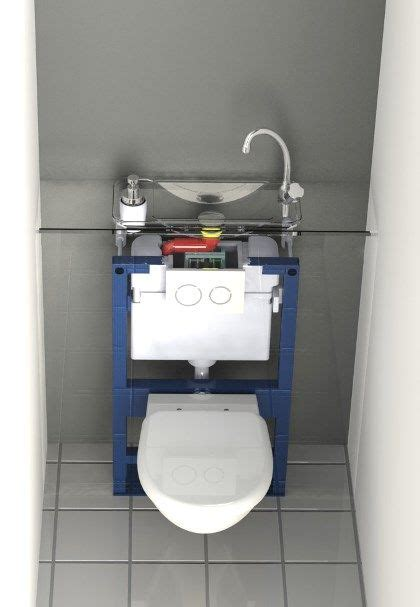Wc Lave Intégré Transparent View Of A Wici Next Compact Wash Basin Integrated To A Geberit Wall Mounted Wc