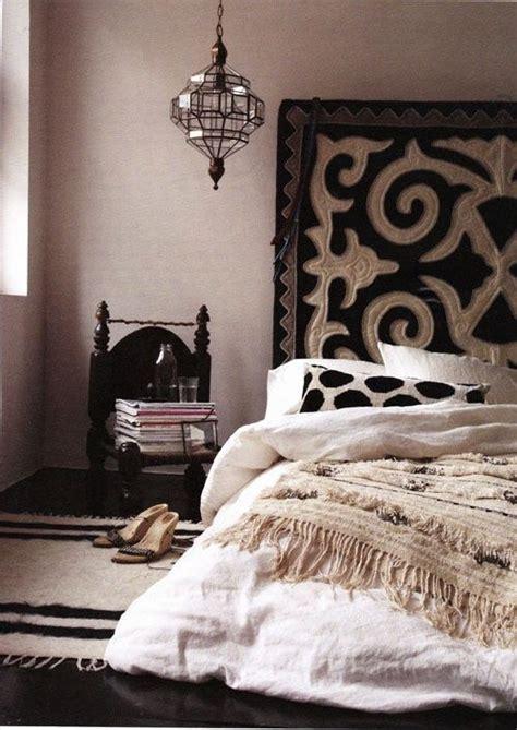 chambre style ethnique cabane indigo quand la décoration ethnique chic se