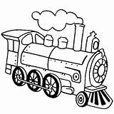 Train Steam Coloring Locomotive Pages Engine Drawing Line Outline Simple Choo Netart Clipart Printable Print Getdrawings Clipartmag Clip Da Kifest�koenyv sketch template