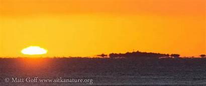 Sun Setting Nature Sunset Sunlight Sitka Looping