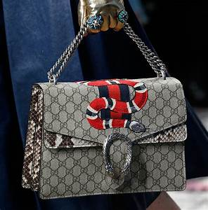 gucci gets detailed for its 2016 runway bags