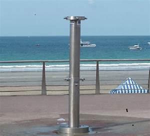Douche Extérieure Inox : douche exterieure inox 316 l de plage piscine camping ~ Premium-room.com Idées de Décoration