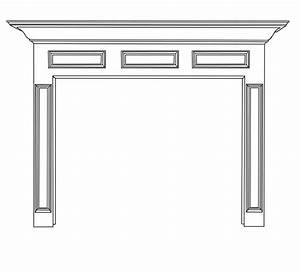Donnelly Natural Wood Mantels For Fireplaces