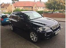 Black BMW X5 Xdrive 35D Msport 5S twin turbo in Moredun