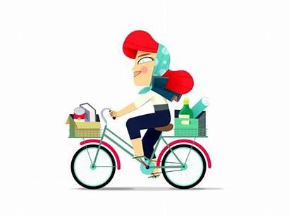 Bicycle Riding Bike Ride Animated