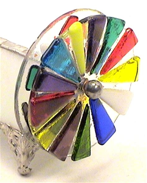 christmas gift ideas wife white fused wheel stained glass
