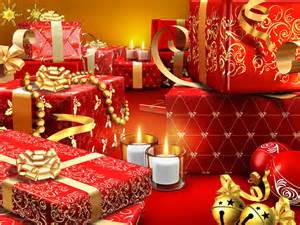 free beautiful christmas gifts computer desktop wallpaper