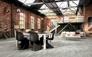 industrial interior design styles for your home With industrial design ideas for home