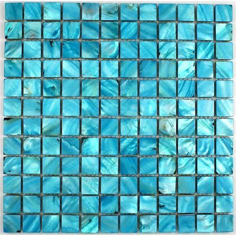 carrelage mosaique bleu turquoise atlub