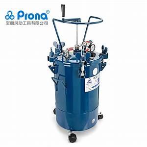 Prona Manual Agitator Pressure Tank Rt 10m Rt 20m Rt 40m