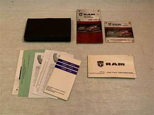 2012 Dodge Ram Owners Manual User Guide Book Set With Case