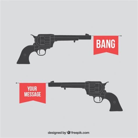gun vectors   psd files