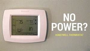 No Power To Honeywell Thermostat  Here U0026 39 S A Fix