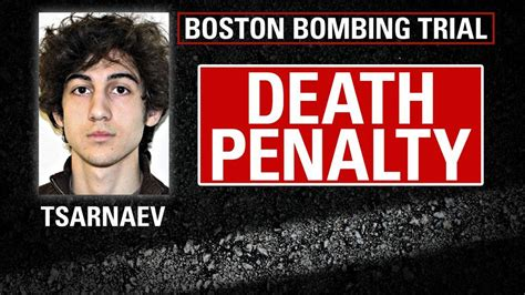Boston Marathon bomber Dzhokhar Tsarnaev sentenced to ...