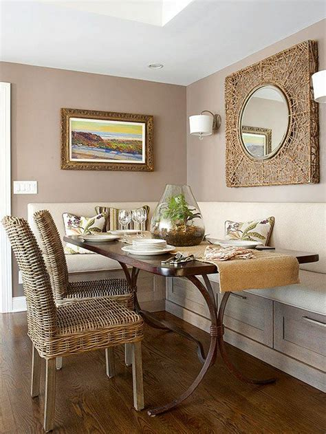 Decorating Ideas For Kitchen Breakfast Area by Small Space Dining Rooms Dining Nook Room Themes And