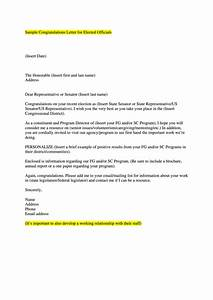Sample Letter For Internship Request Sample Congratulations Letter For Elected Officials
