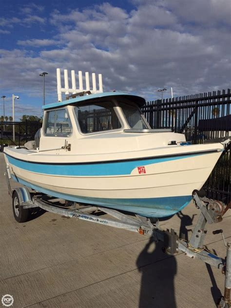 Dory Boats For Sale by 1987 Used C Dory 16 Pilothouse Boat For Sale 13 000
