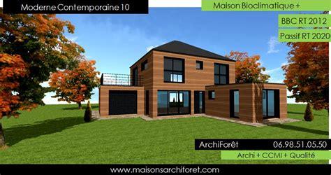 maison contemporaine moderne  design  architecte