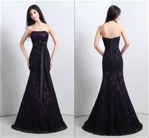 black and purple bridesmaid dresses black and purple lace wedding dresses ipunya