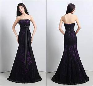 black and purple lace wedding dresses ipunya With wedding dress with purple lace