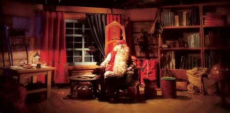 santa claus village meet santa   santa claus office