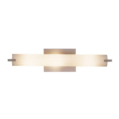brushed nickel bathroom light vertical or
