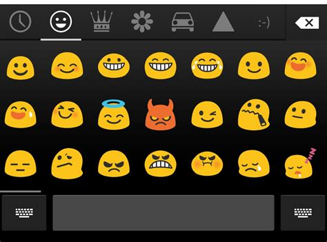 emoji for android that show up android display built in emoji for inputmethod